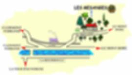 Plan d'acces du site