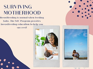 Breastfeeding is normal when feeding baby. The WIC Program provides breastfeeding educatio