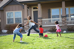 bigstock-Mother-and-children-running-an-