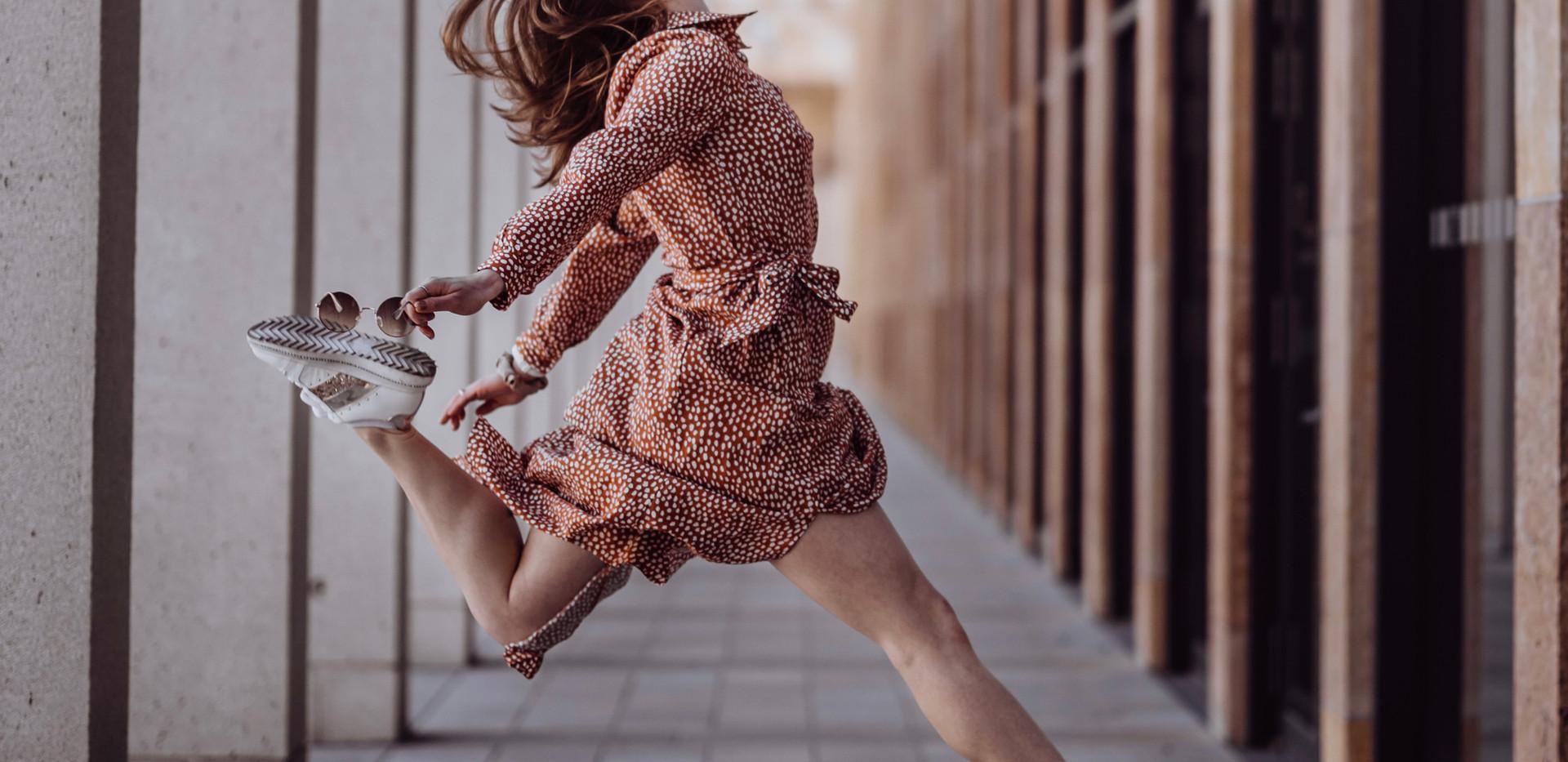 Neben der Fotografie hat auch das Tanzen einen wichtigen Platz in meinem Leben.