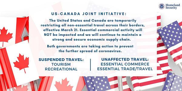 coronavirus travel restrictions to canada, coronavirus travel news