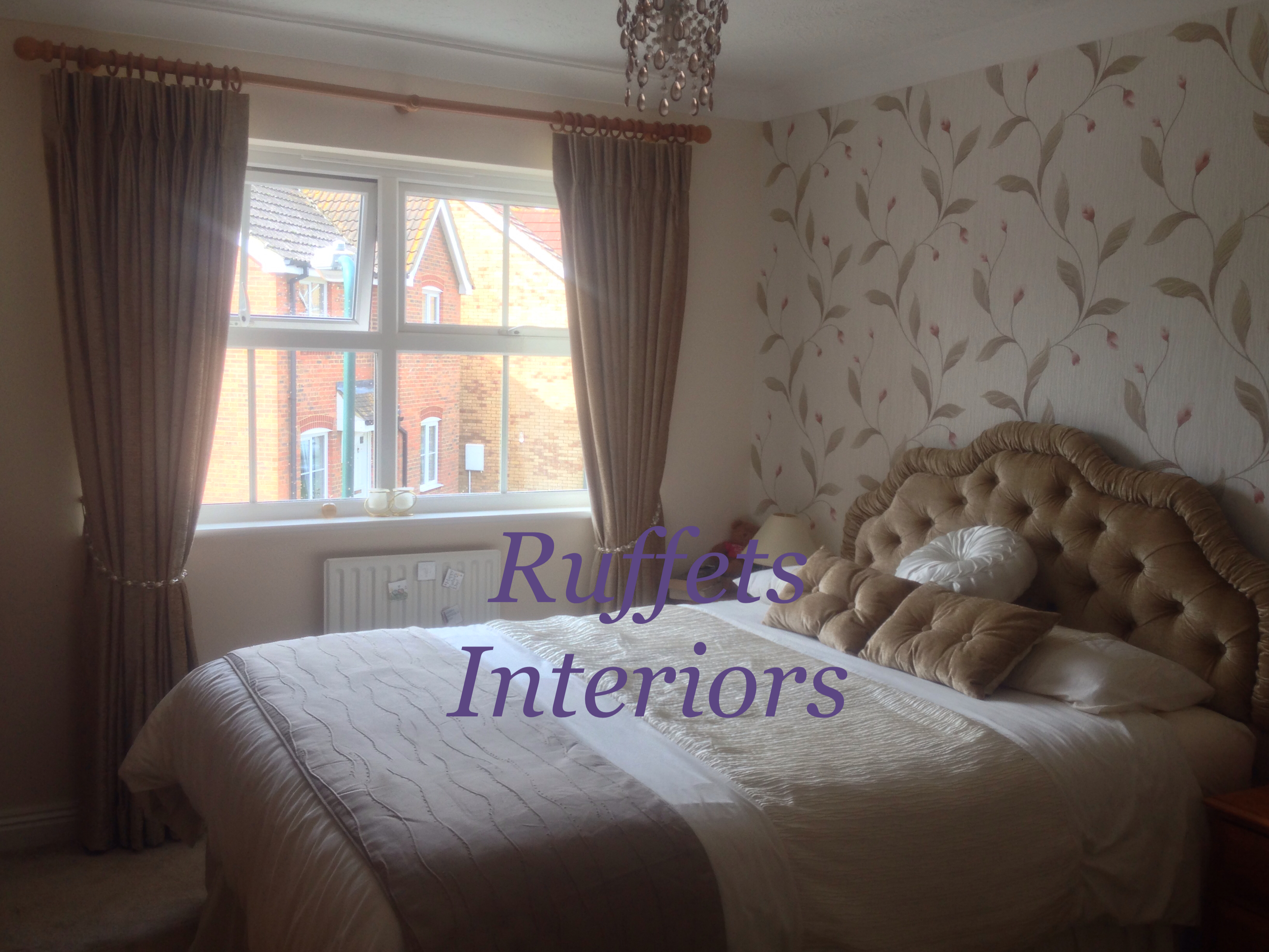 Bespoke Curtains & headboard