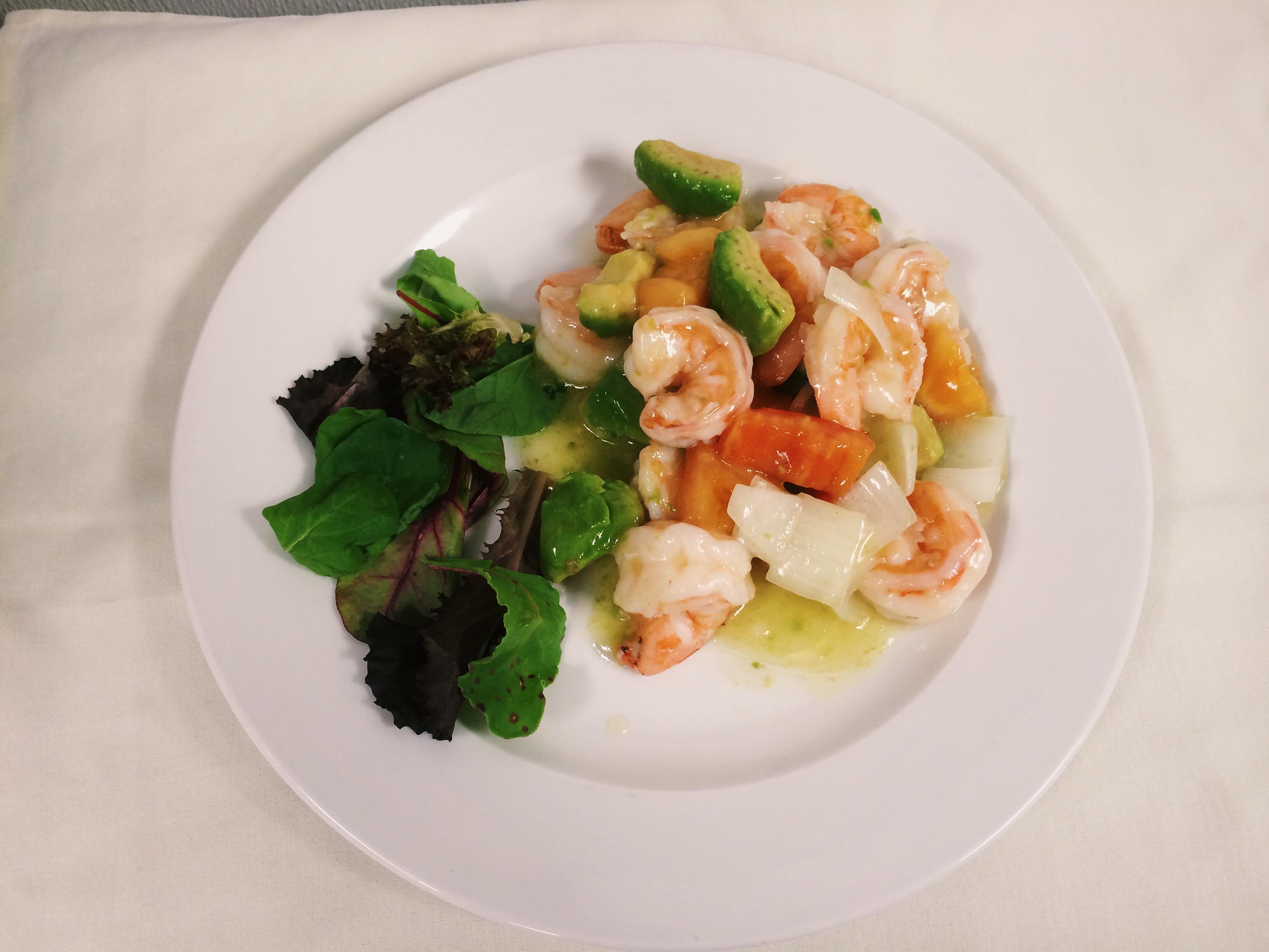 shrimp avo