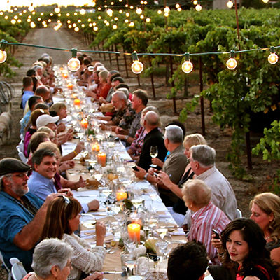 long table hunter valley events shuttle