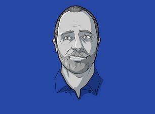 Gilles vernet, illustrateur graphique blue submarine