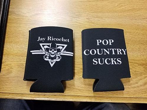 Jay Ricochet, Pop Country Sucks Beer Koozie