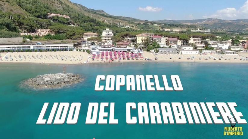 lido del carabiniere a Copanello