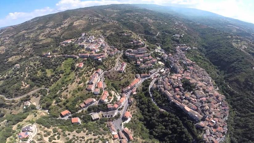Luzzi visto dall'alto