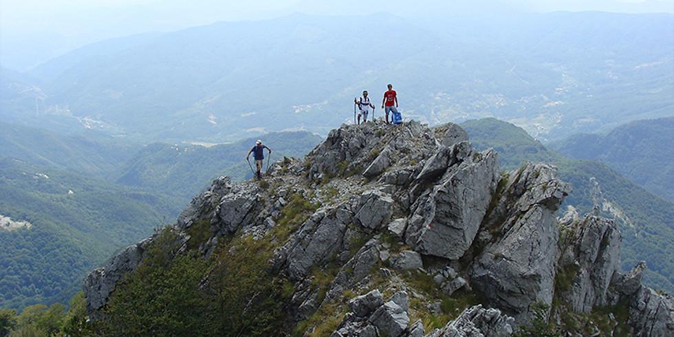 Escursione sul crinale della Montea