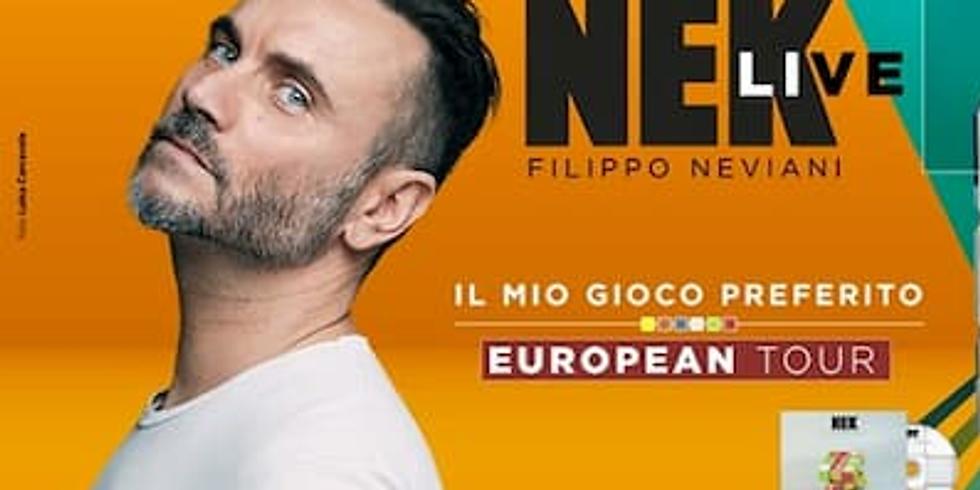 Nek european tour