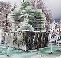 fontana ghiacciata di Gambarie a Santo s