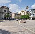 chiesa di San Francesco e Municipio di B
