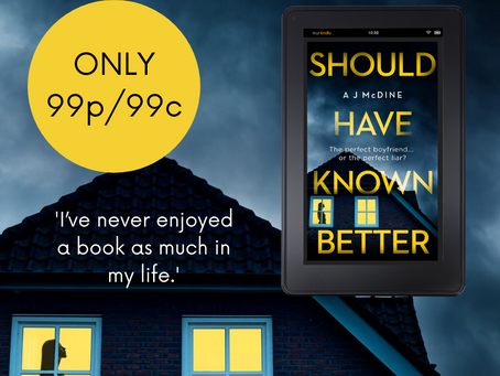 Should Have Known Better only 99p/99c!