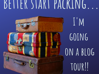Better pack my bags - I'm going on a blog tour!