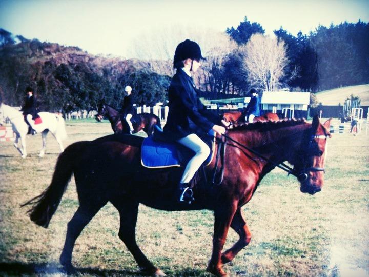 My second pony, Tess