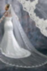Velo para vestido de novia en Barranquil