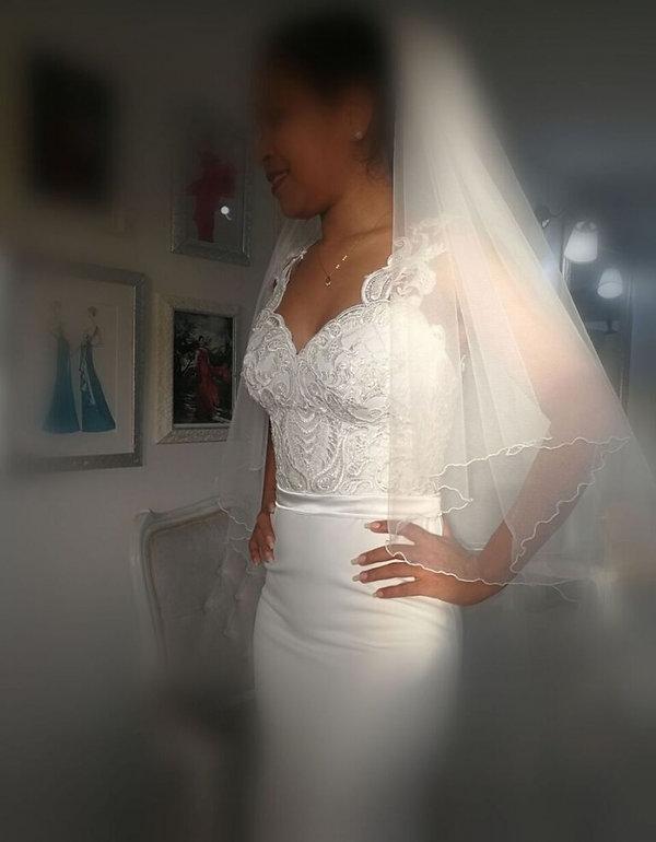 Velo para vestido de novia_Barranquilla.