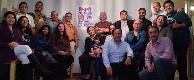 DIASPORA-ISRAEL DAY celebration in congregation Adat-Israel, Guatemala City.