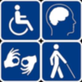 סמלי נגישות: כללי, שכלי, שפת הסימנים, לקות ראיה