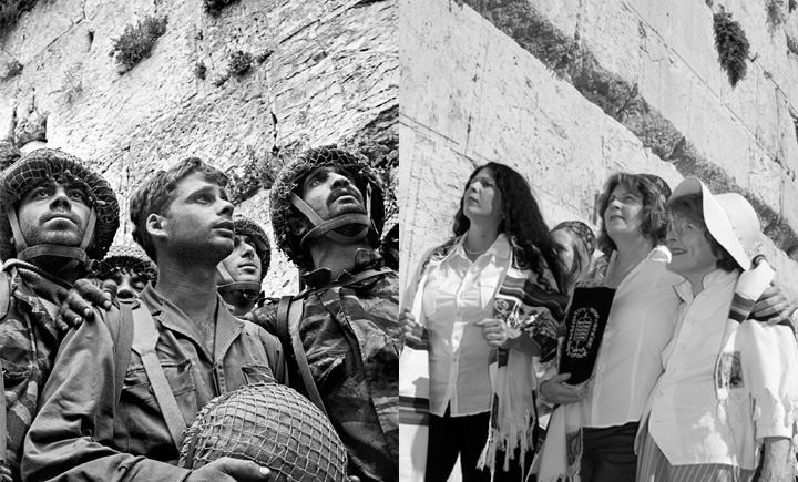 Women of the Wall and the paratroopers who liberated the Western Wall