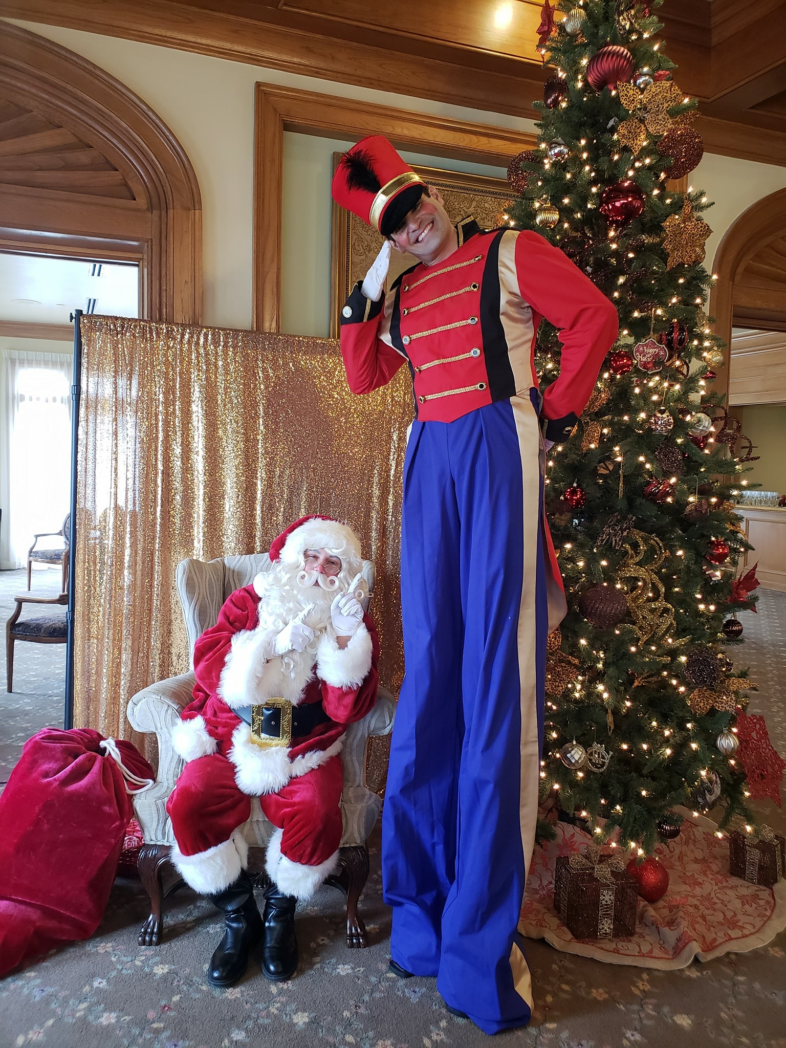 Toy Soldier & Santa