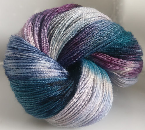 Gorgeous Knits Hand-Dyed 3-ply 100% Pure New British Knitting Wool - Dorothy