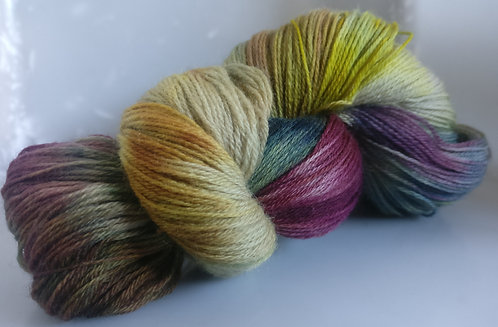 Gorgeous Knits Hand-Dyed 3-ply 100% Pure New British Knitting Wool - Leta
