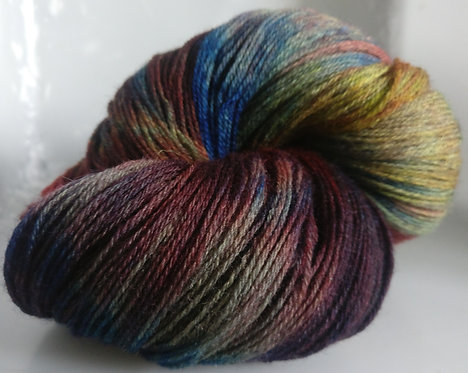 Gorgeous Knits Hand-Dyed 3-ply 100% Pure New British Knitting Wool - Teri
