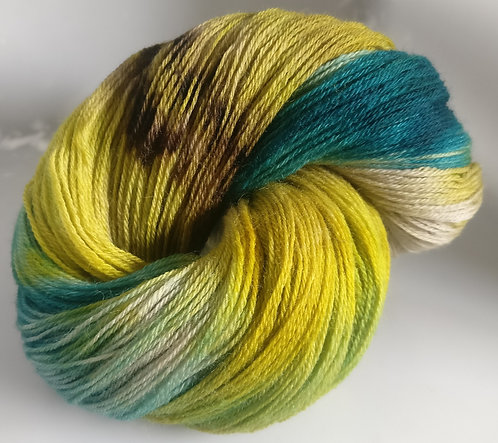 Gorgeous Knits Hand-Dyed 3-ply 100% Pure New British Knitting Wool - Tempest