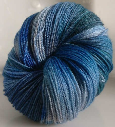 Gorgeous Knits Hand-Dyed 3-ply 100% Pure New British Knitting Wool - Freda