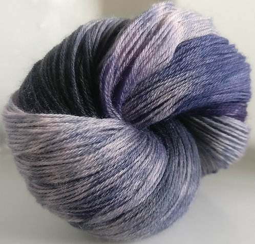 Gorgeous Knits Hand-Dyed 3-ply 100% Pure New British Knitting Wool - Robyn