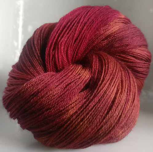 Gorgeous Knits Hand-Dyed 3-ply 100% Pure New British Knitting Wool - Tia