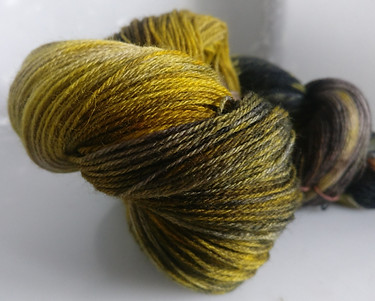 Gorgeous Knits Hand-Dyed 3-ply 100% Pure New British Knitting Wool - Lupe