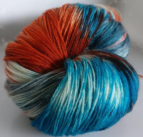 Gorgeous Knits Hand-Dyed 3-ply 100% Pure New British Knitting Wool - Joanna