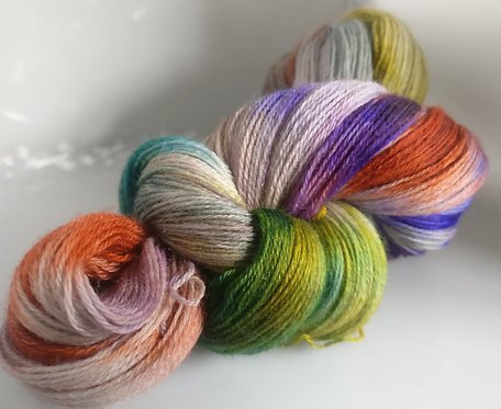 Gorgeous Knits Hand-Dyed 3-ply 100% Pure New British Knitting Wool - Eden