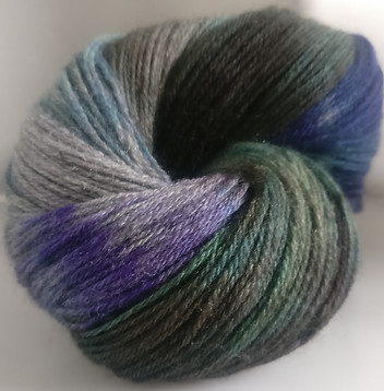 Gorgeous Knits Hand-Dyed 3-ply 100% Pure New British Knitting Wool - Avis