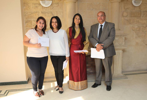 2nd AMI Primary Assistants Course in Egypt - Gaduation