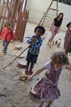 Montessori Natural Garden - Nile River Montessori School and Nursery - Egypt