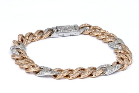 Cuban Diamond Bracelet