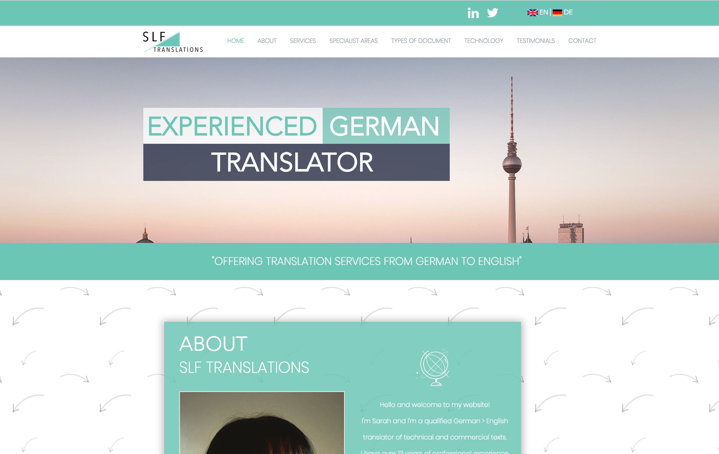 SLF Translations | German to English Translator | About