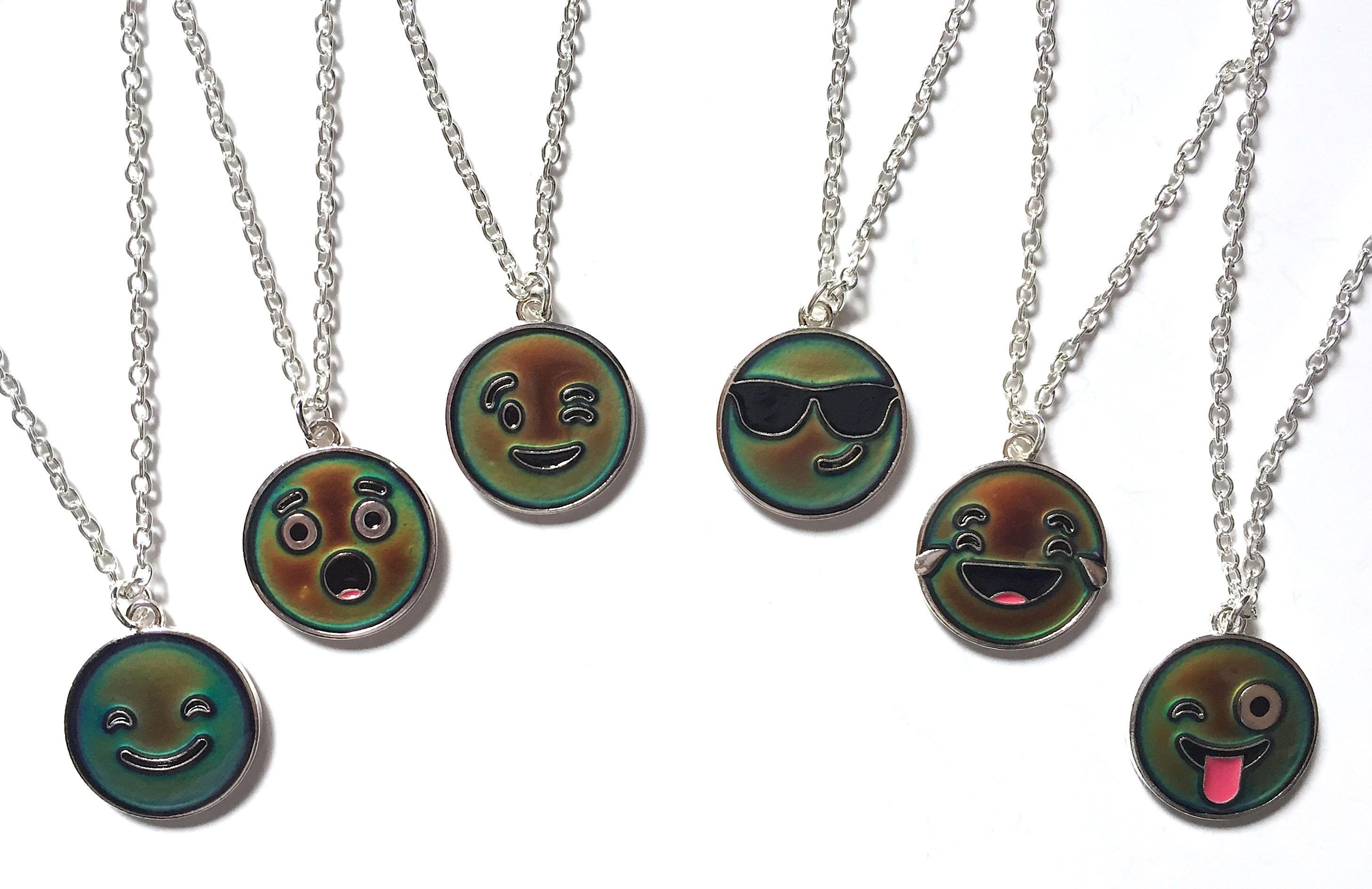 Mood Emoji Necklaces