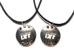 Cut-Out BFF Necklace Set
