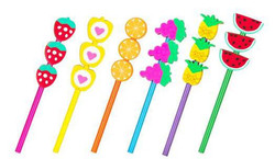 Fruit Pencils