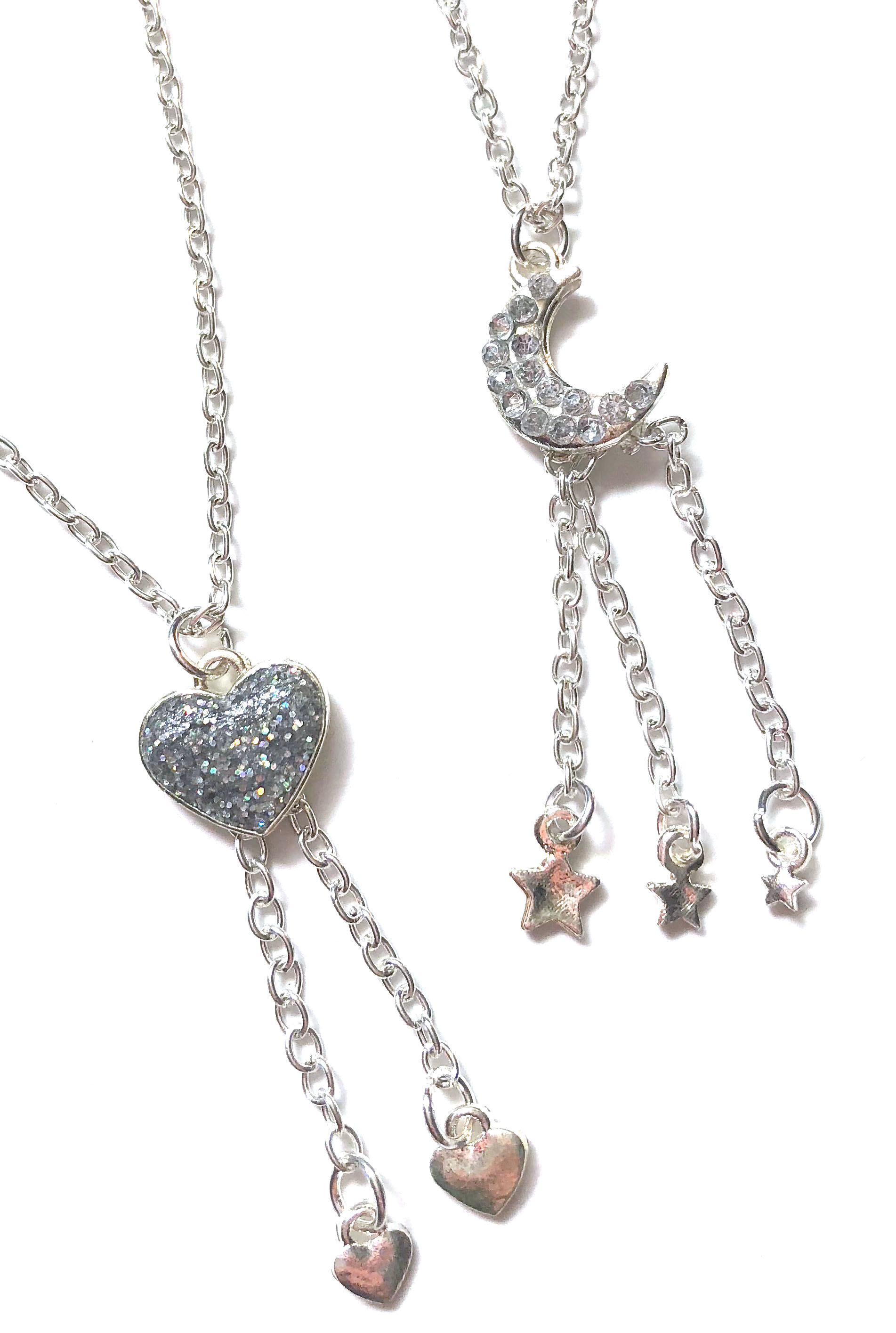 Star + Heart Necklaces