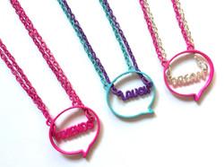 Bubble Necklace Sets