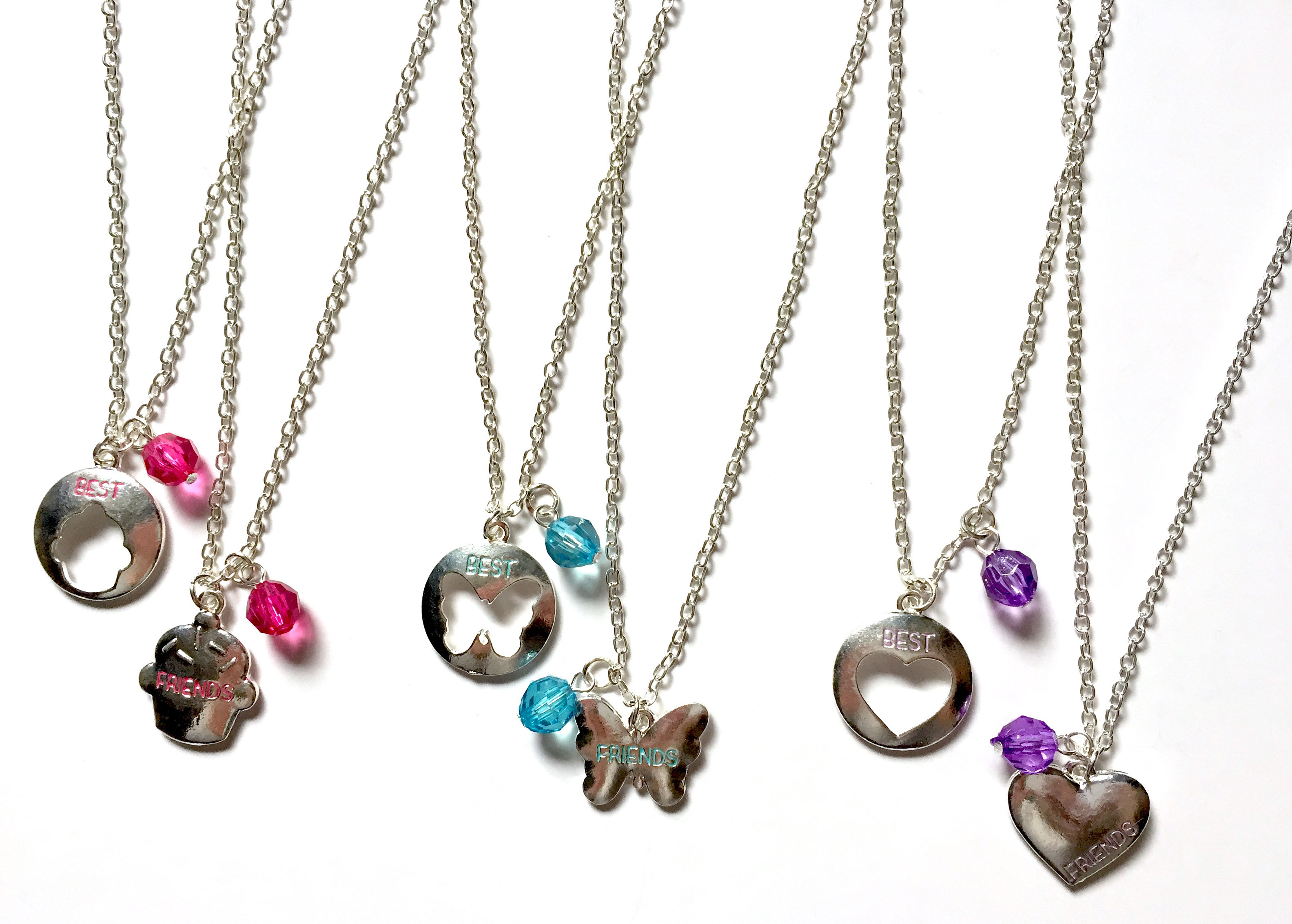 Cut-Out BF Necklaces