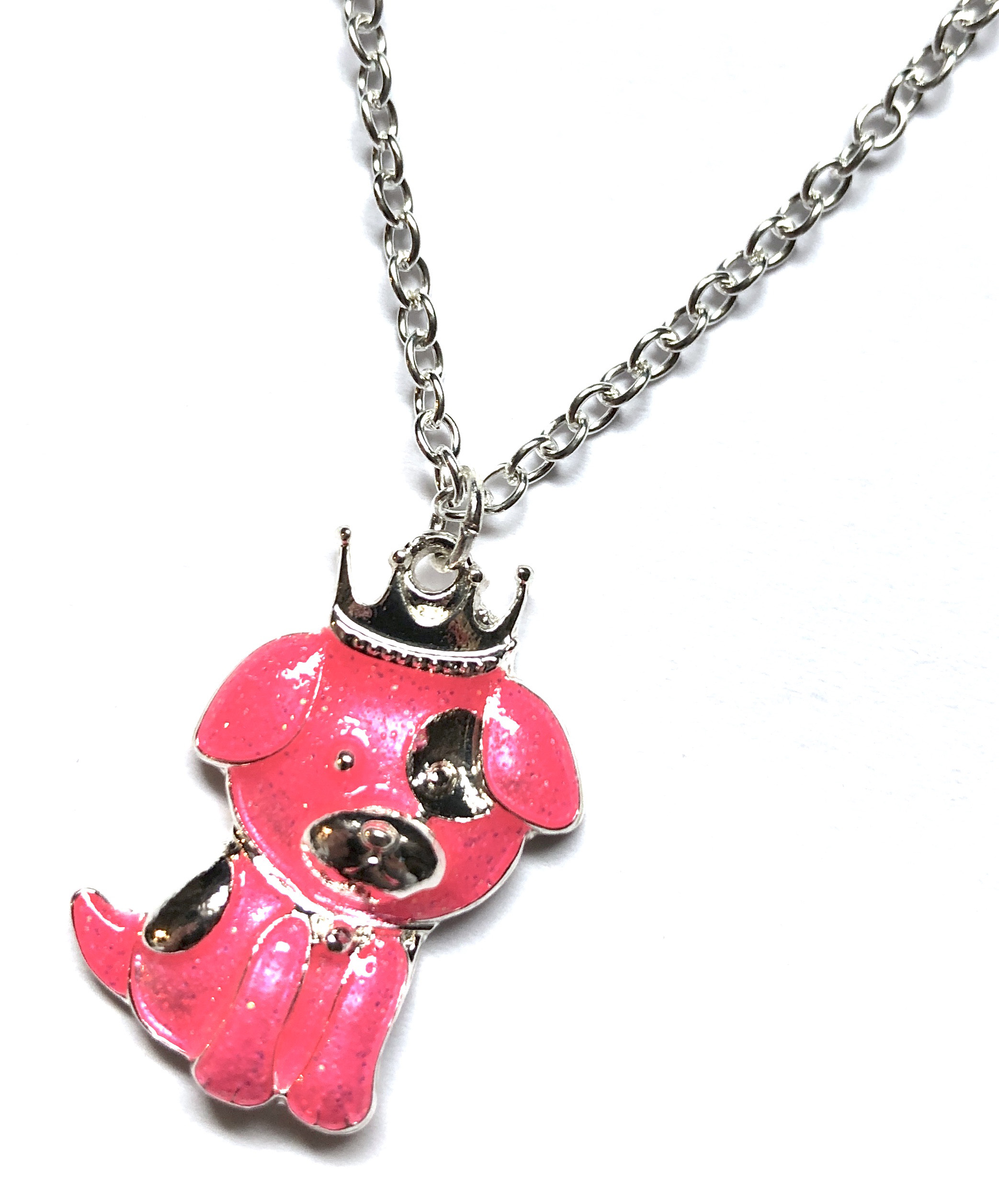Royal Puppy Necklace
