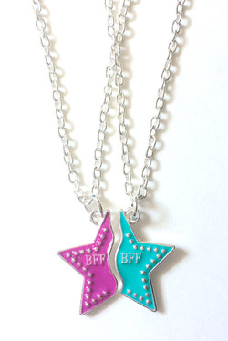 BFF Star Necklaces