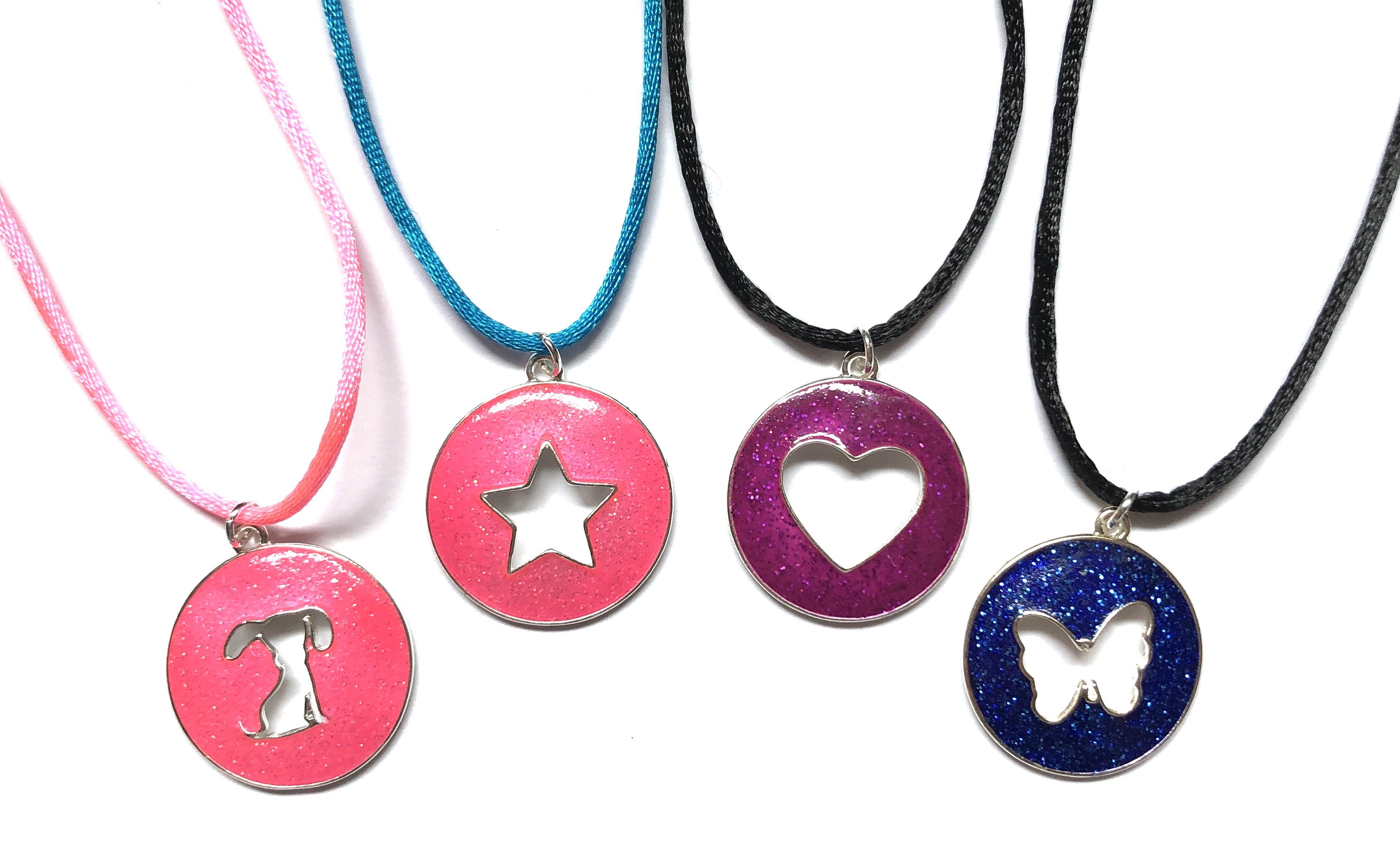 Cute Cut-Out Necklaces