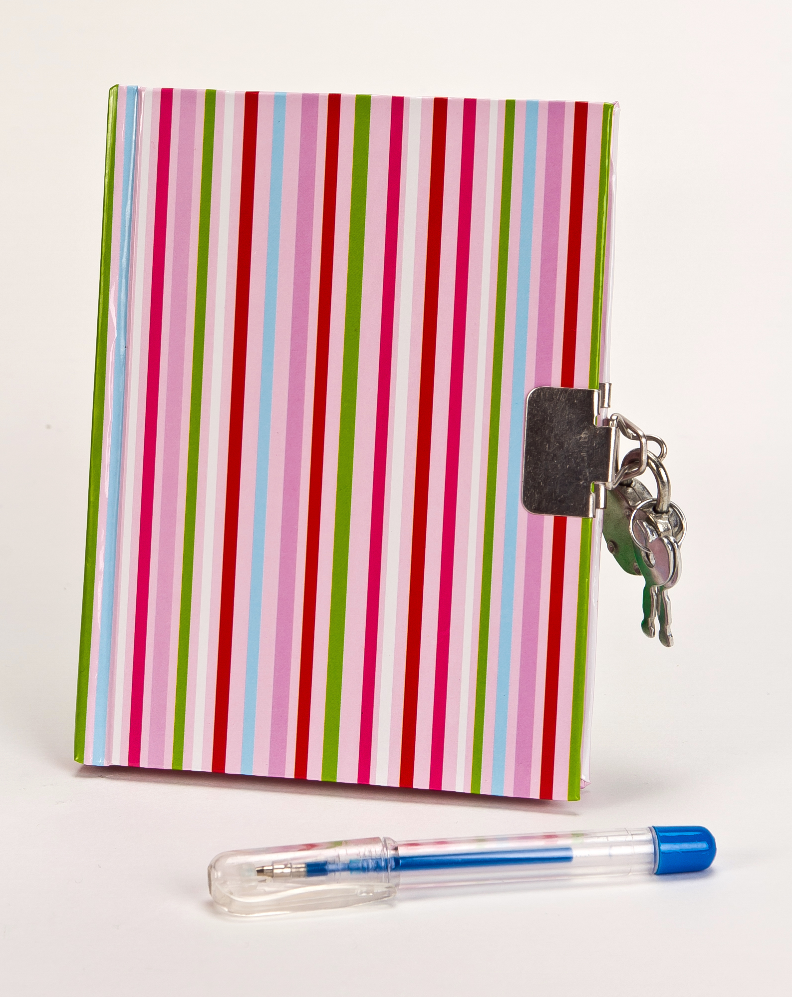 Striped Journal and Pen